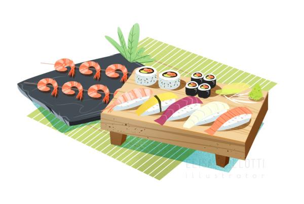 Sushi-Corretta alimentazione-illustrazione alimentazione-elisa-bellotti-wp.jpg
