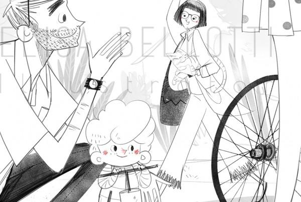 Stai Fermo Toto - Elisa Bellotti - Mondadori-Bicicletta