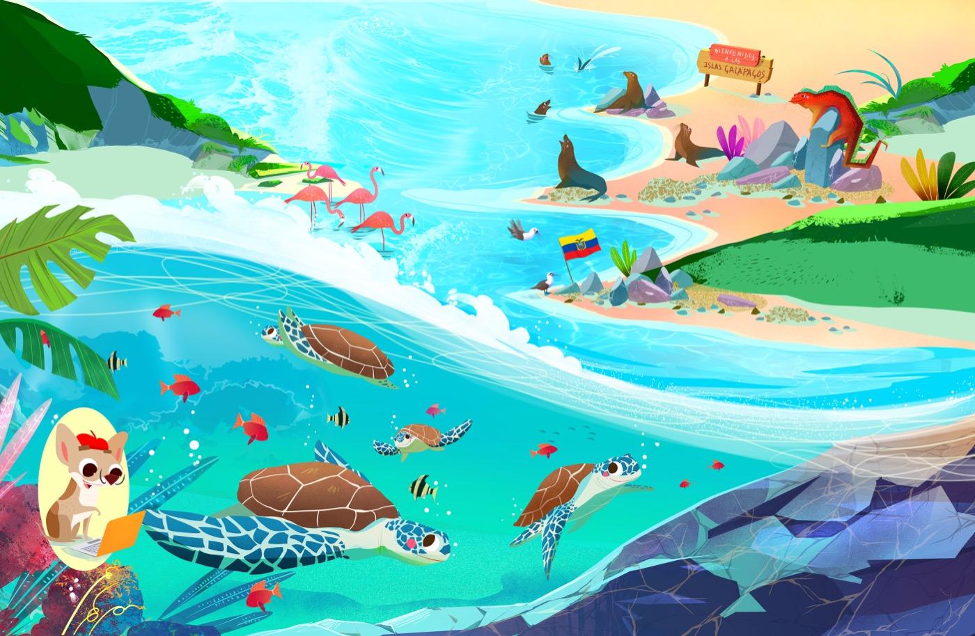 Veraneando-Gruppo editoriale Raffaello - Bellotti Elisa-Galapagos