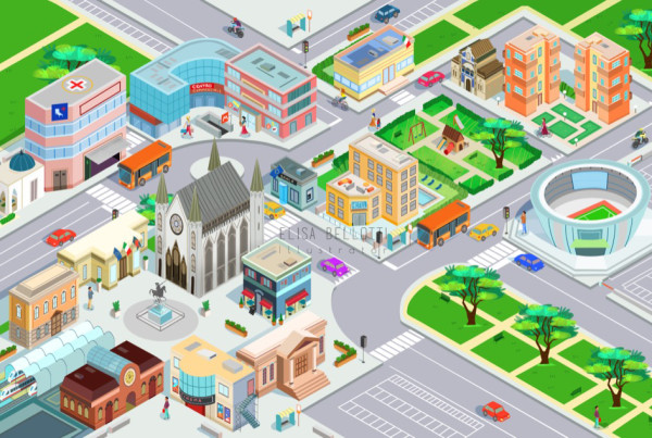 La città - Sussidiario dei linguaggi - Giunti scuola -Elisa Bellotti