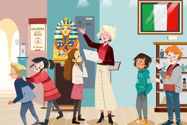 Costituzione -Sussidiario educazione civica e religione - Mondadori-Bellotti Elisa libri di scolastica,illustratrice di scolastica. Illustratrice di scuola, Educational