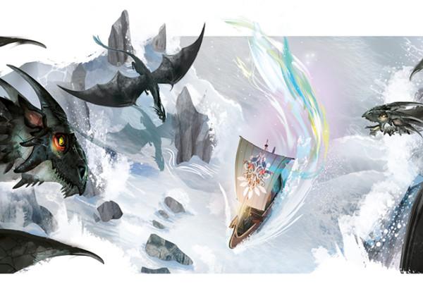 Terramare - Il drago di Pendor - Rizzoli illustrato da Bellotti Elisa. Fantasy scolastica. 2021 Rizzoli education-antologia di Rosetta Zordan